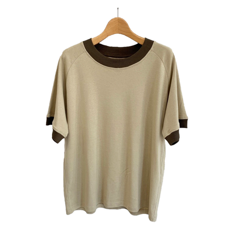 PERU COTTON RINGER TEE
