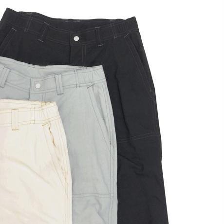 WASHABLE  NYLON CANVAS WORKER PANTS