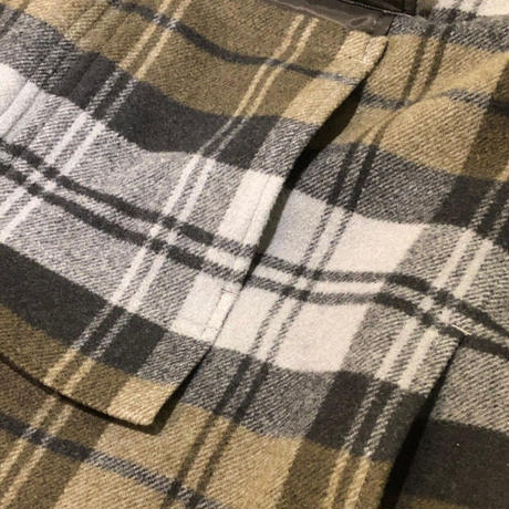 BALOON WOOL CHECK FIELD JKT