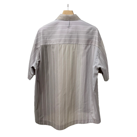 100/2 COTTON BROAD GRADATION STRIPE S/SLEEVE SHIRT