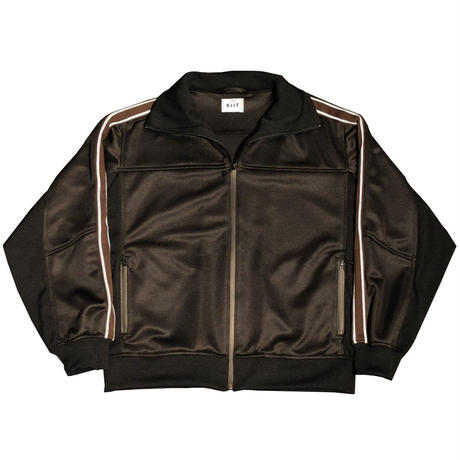 BLISTER JACQUARD JERSEY ZIP UP TRACK JKT