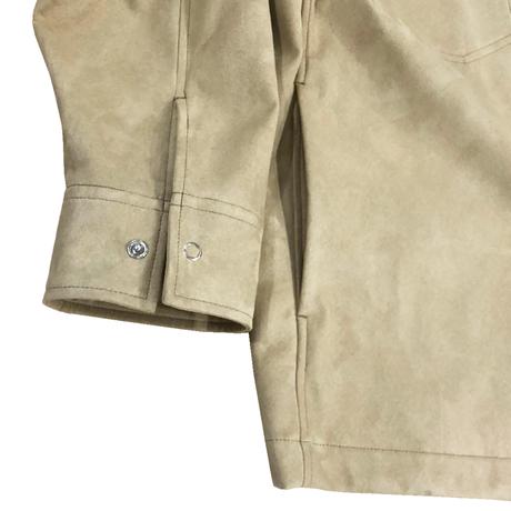 SUEDE CLOTH WESTERN OVER SHIRT JKT