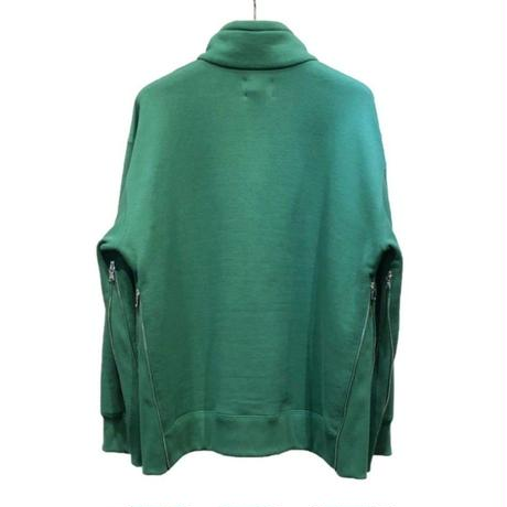 30/7 COTTON PILE HALF ZIP TOPS