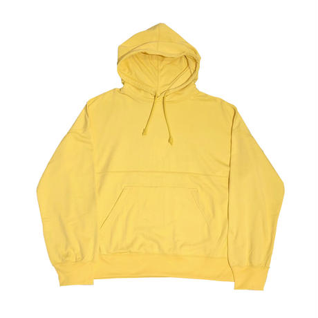 NY/COTTON PILE HOODIE TOPS