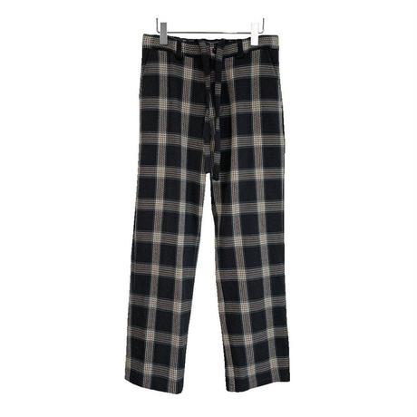 HEAVY FRANNEL CHECK EASY PANTS