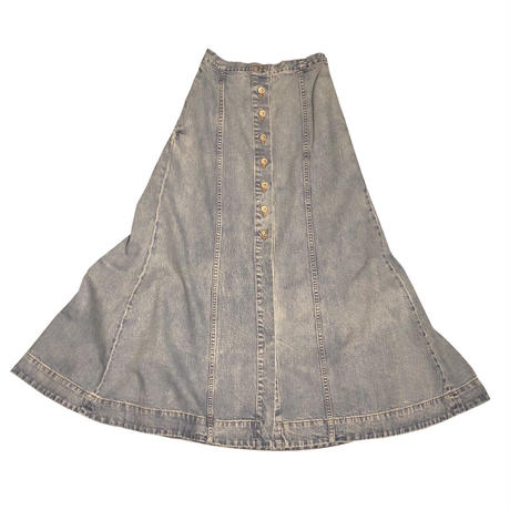 12OZ DENIM LONG SKIRT