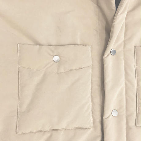 P/N PEACH SKIN PADDING OVER SHIRT JKT (POLARTEC POWER FILL)