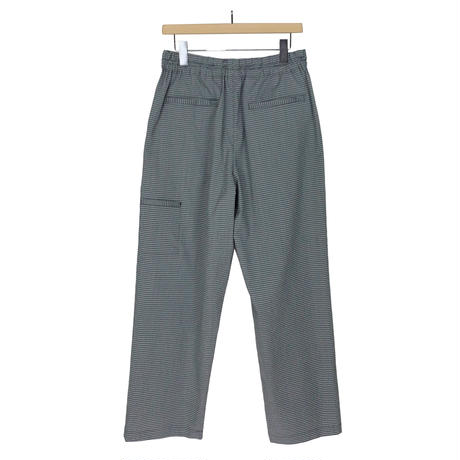 W/E SEERSUCKER MAICRO CHECK EASY WIDE PANTS