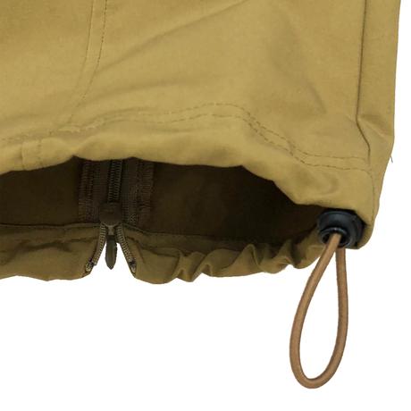 P/C GOOSE SHELL EASY CARGO PANTS (BACK ZIP)