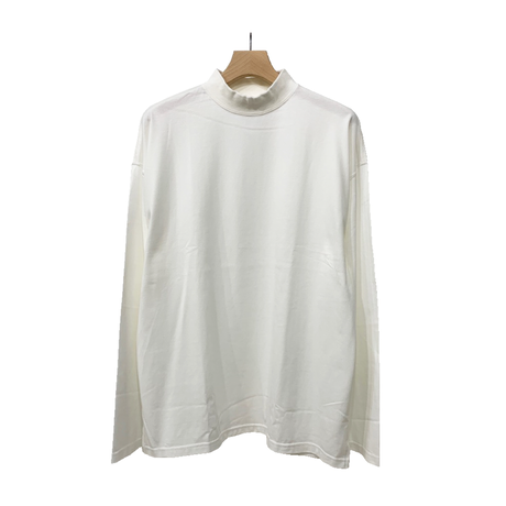 30/2 COTTON MOCK NECK L/SLEEVE CUT&SEWN