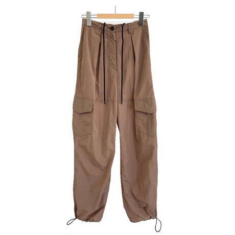 NYLON TAFFETA WASHER CARGO PANTS