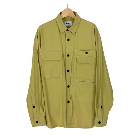 80/2 HARD TWIST COTTON TWILL MIL SHIRT JKT