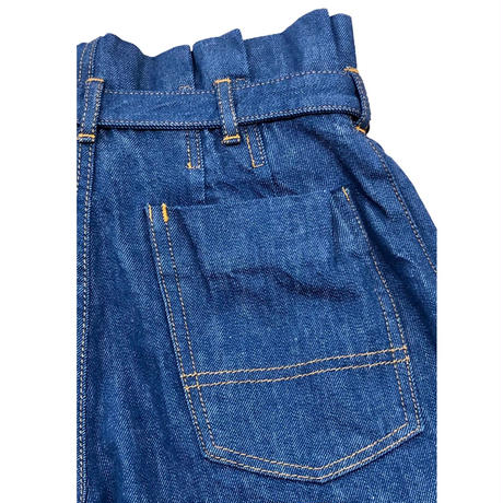 12OZ DENIM HI WEIST PANTS