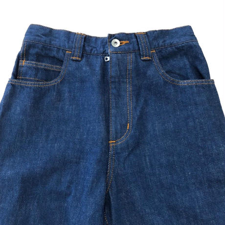 11.5oz DENIM BACK ZIP 5P PANTS