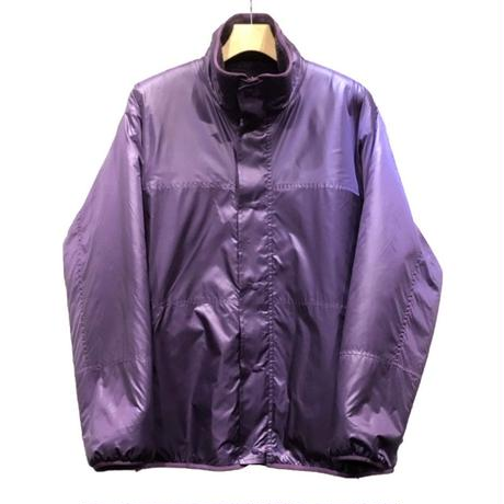 ORIGINAL PATTERN BOA FLEECE ×  RIPSTOP NYLON  REVERSIBLE ZIP UP BLOUSON  ZIP UP BLOUSON