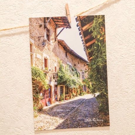 「ヨーロッパの路地」ポストカード 5枚セット