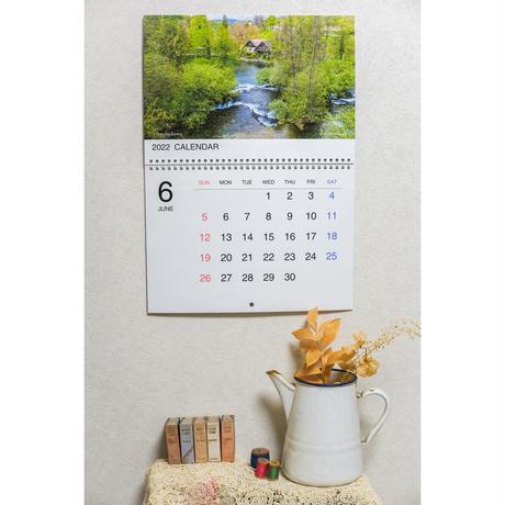 壁掛けカレンダー 2022 「ヨーロッパの美しい風景」