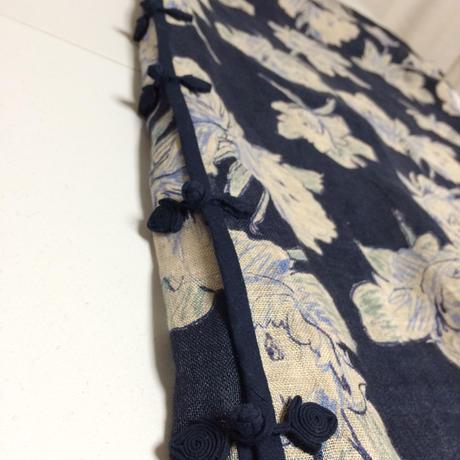 (展示用)リネンボイルのチャイナドレス