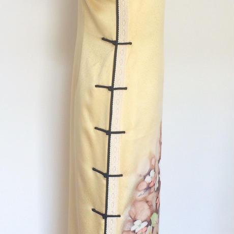 オールド・チャイナドレス(着物地)