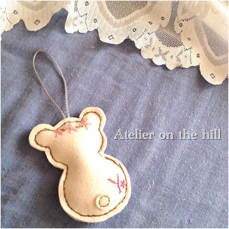 キャラクターチャーム「BABY IN BEAR」