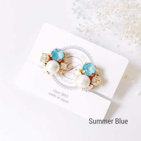 ★2018 S/S  New Color★SWAROVSKI®・Crystals Bijoux Earrings -Round-
