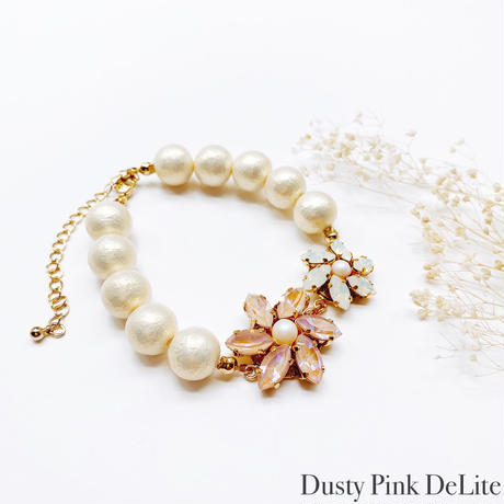 ★ 2022 S/S NEW COLOR★【ブレスレット】Crystal Flower