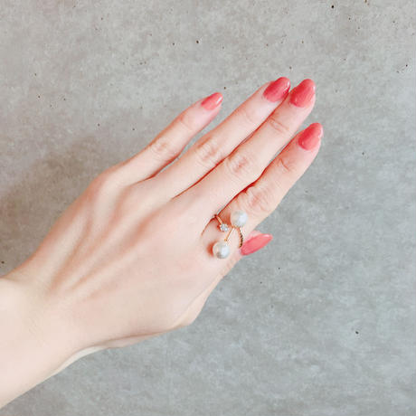 Pearl  Ring - Bijou no.3 -