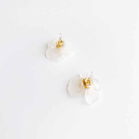 Acryl Flower Earrings