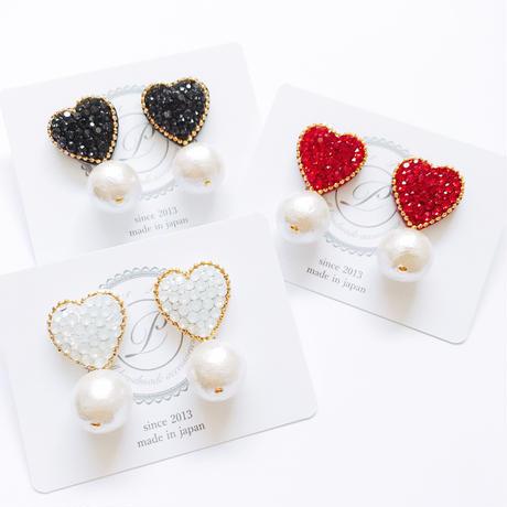 Heart × Pearl Earring