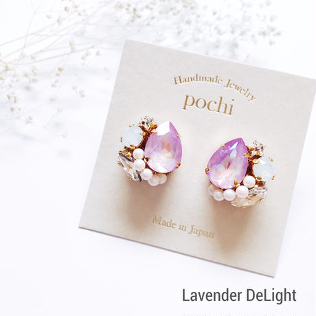 ★2020 S/S NEW COLOR★SWAROVSKI®・Crystals Bijoux Pierce - Drop-