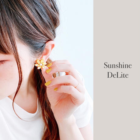 ★2020 S/S NEW COLOR★【イヤリング】Crystal Flower