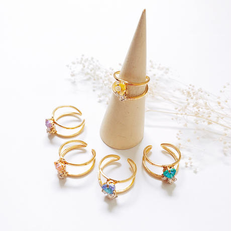 ★2020 S/S NEW COLOR★Sugarplum  Ring