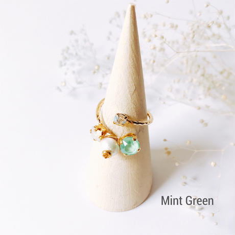 ★2018 S/S NEW COLOR★Petit Bijoux Ring