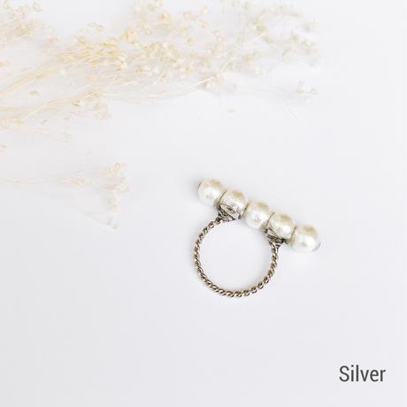 【リング】Cotton Pearl -No.6-