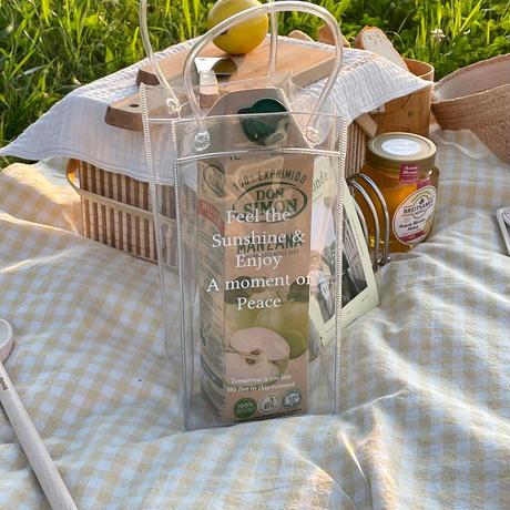 picnic bag White color
