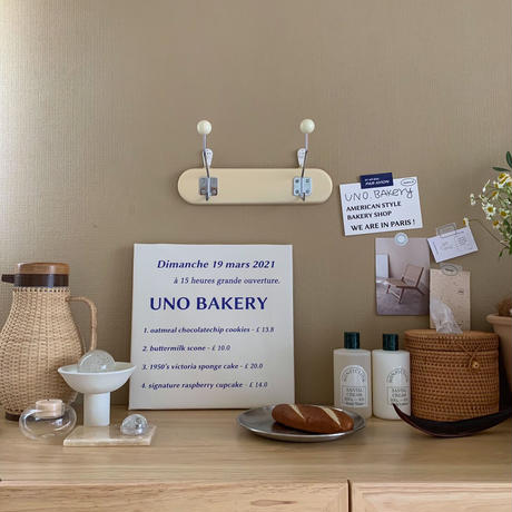 (2 type)UNO bakery canvas frame