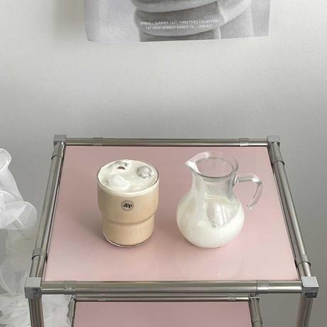 Pot type glass pitcher