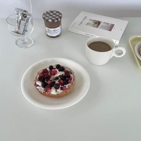 daily white mug