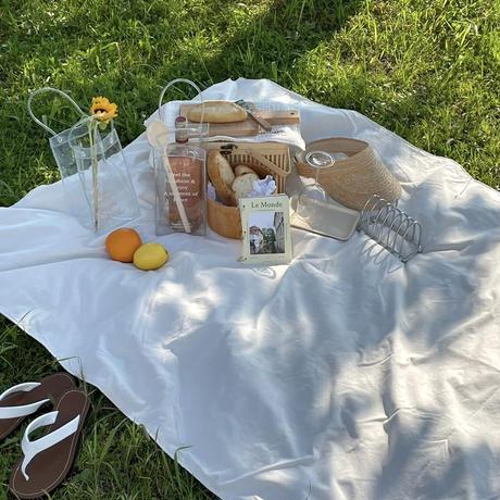 picnic sheet White
