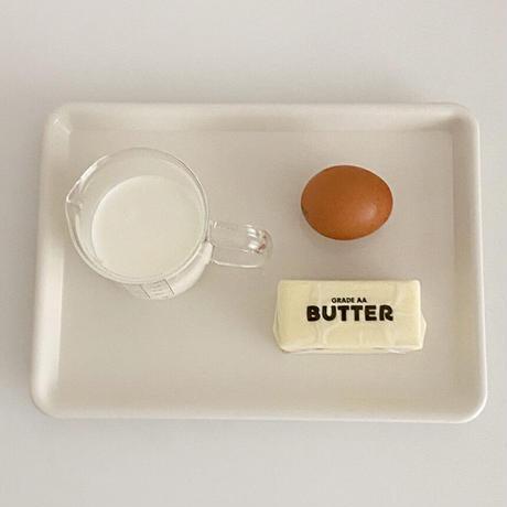 Caffe tray White(M)