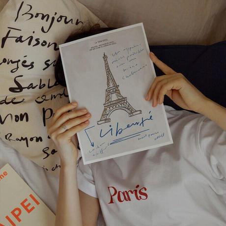 【予約販売】La Tour Eiffel ポスターのみ(単品購入のみ)