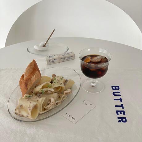 oval glass plate