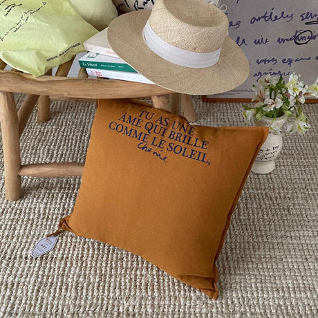 Relaxed Cotton-Linen Cushion Cover