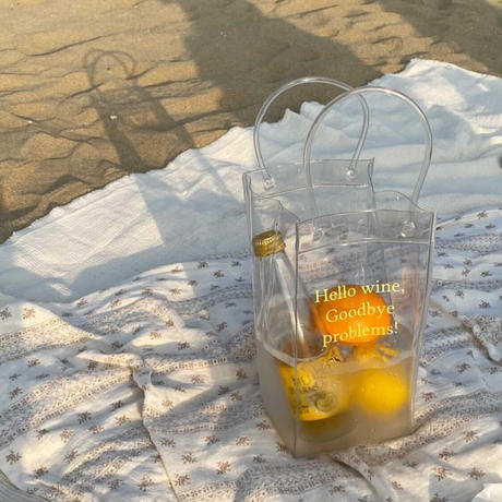 picnic bag yellow color