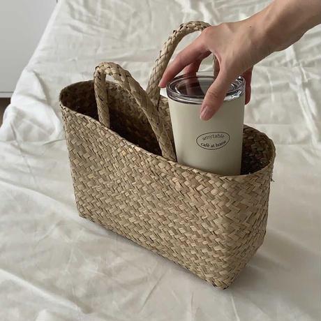 simple rattan bag