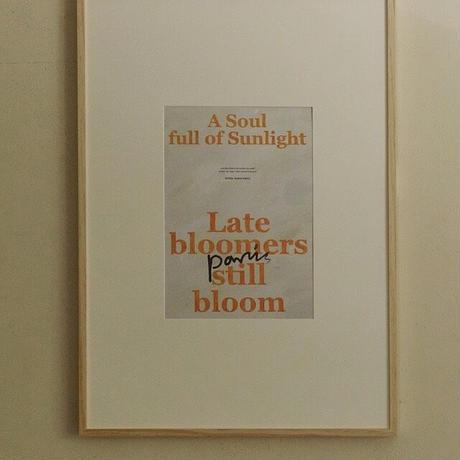 【予約販売】A Soul Full of Sunlight ポスターのみ(単品購入のみ)