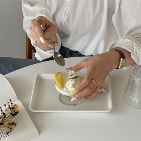 Caffe tray White(S)