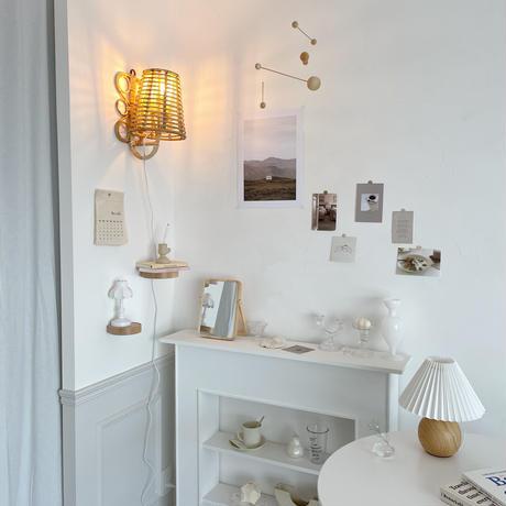 handmade rattan lampshade