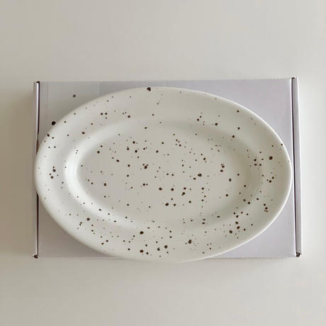 urban oval plate
