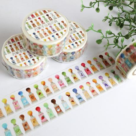 お菓子な絵の具☆マスキングテープ
